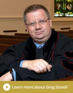 The Reverand Dr. Greg Stovell