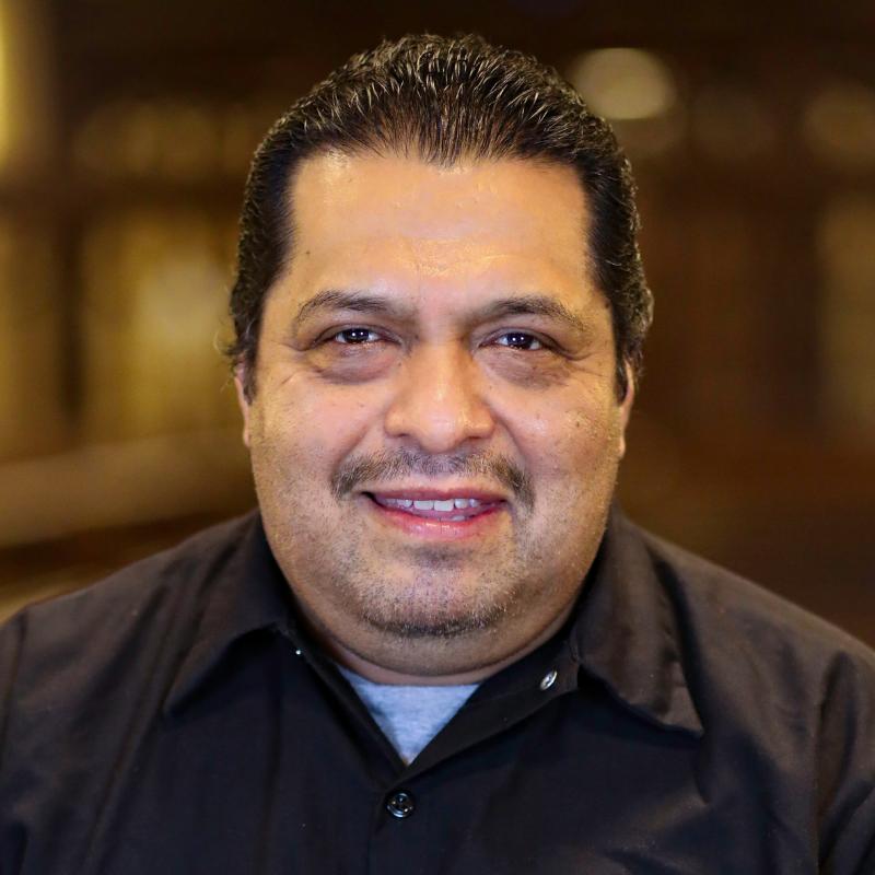 Alfonso Cruz, Facilities Team