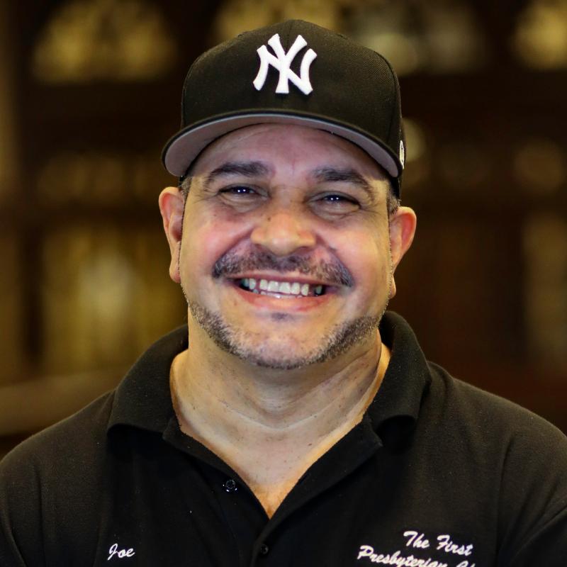 Joe Diaz, Facilities Team